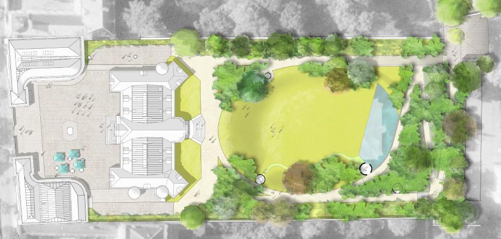 Plan du futur parc